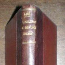 Libros antiguos: POE, EDGARDO: EL PRECURSOR DE SHERLOCK-HOLMES. TRAD. DE E. RAMÍREZ ANGEL. Lote 70052513