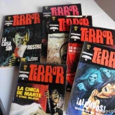 Libros antiguos: NARRACIONES GEMINIS DE TERROR N-1-2-3-4-5-6- BRUGUERA. Lote 71798783