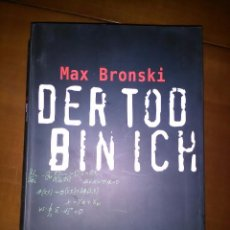 Libros antiguos: MUERTE I DE MAX BRONSKI. Lote 74488331