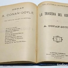 Libros antiguos: OBRAS DE ARTHUR CONAN-DOYLE,LA NOVELA ILUSTRADA.. Lote 74658251