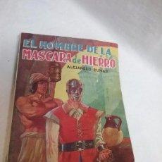 Libros antiguos: EL HOMBRE DE LA MÁSCARA DE HIERRO - ALEJANDRO DUMAS - EDITORIAL TOR - AÑO 1960. Lote 77534573