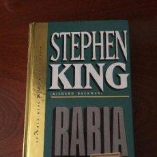 Libros antiguos: RABIA - STEPHEN KING - RICHARD BACHMAN. Lote 79104461