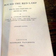 Libros antiguos: ROUND THE LAMP, ARTHUR CONAN DOYLE,1895,286 PAGINAS, EN INGLES. Lote 80005973