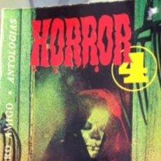 Libros antiguos: HORROR 4, RECOPILACIÓN DE KURT SINGER Nº 409 EDITORIAL BRUGUERA 1976. Lote 80337981