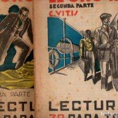Alte Bücher - C. VITIS : EL ORO REY - 2 VOLS.(LECTURAS PARA TODOS, 1934) - 81016880