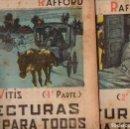 Libros antiguos: VITIS : LOS MILLONES DE LOS RAFFORD - 2 VOLS.(LECTURAS PARA TODOS, 1934). Lote 81018636