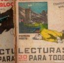 Libros antiguos: CHARLES BARRY : EL CADÁVER EN EL PUENTE WATERLOO - 2 VOLS.(LECTURAS PARA TODOS, 1935). Lote 81024772