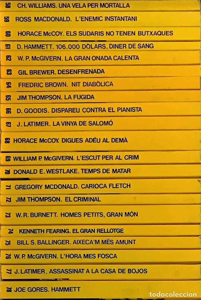 Libros antiguos: LA CUA DE PALLA 1 al 91 CORRELATIUS (+ 3 SEPARATS) PERFECTES - Foto 4 - 81574660