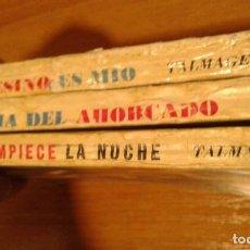 Libros antiguos: LOTE DE TRES NOVELAS DE LA COLECCION SALAMANDRA. Lote 81839884