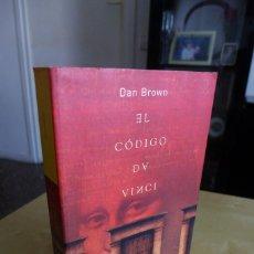 Libros antiguos: EL CODIGO DA VINCI, DAN BROWN,EDITORIAL UMBRIEL,TAPA BLANDA,2004 1ª EDICIÓN. Lote 83636068
