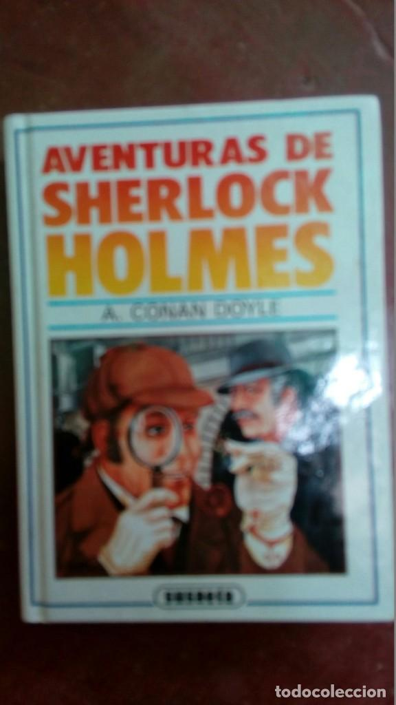 AVENTURAS DE SHERLOCK HOLMES ; A. CONAN DOYLE (Libros antiguos (hasta 1936), raros y curiosos - Literatura - Terror, Misterio y Policíaco)