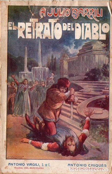 A. JULIO BARRILI : EL RETABLO DEL DIABLO (VIRGILI, S.F.) (Libros antiguos (hasta 1936), raros y curiosos - Literatura - Terror, Misterio y Policíaco)