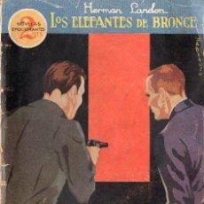 Libros antiguos: HERMAN LANDON : LOS ELEFANTES DE BRONCE (PRENSA MODERNA, 1931). Lote 89471484