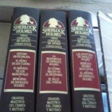 Libros antiguos: SHERLOCK HOLMES 3 TOMOS. Lote 91003525