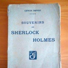 Alte Bücher - Souvenirs de Sherlock Holmes.Conan Doyle.Librairie Félix Juven París 1908 - 91444205