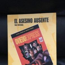 Libros antiguos: EL ASESINO AUSENTE+ DVD OVIEDO EXPERESS. Lote 92030985