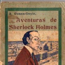 Libros antiguos: A. CONAN DOYLE : AVENTURAS DE SHERLOCK HOLMES - LA RESURRECCIÓN DE SHERLOCK HOLMES (1908). Lote 92767975