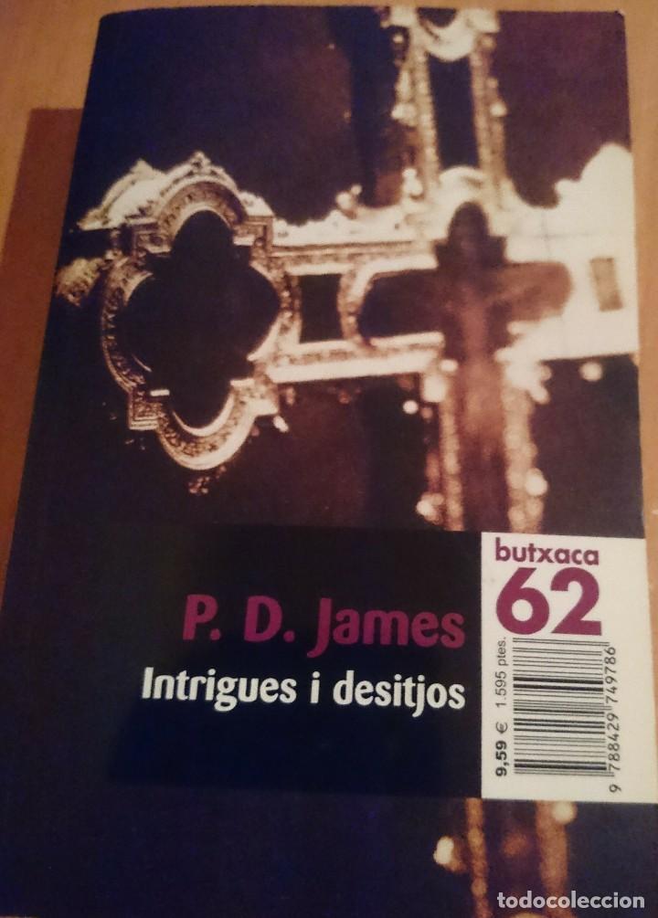 INTRIGUES I DESITJOS (Libros antiguos (hasta 1936), raros y curiosos - Literatura - Terror, Misterio y Policíaco)