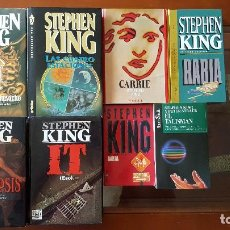Libros antiguos: LOTE LIBROS STEPHEN KING. Lote 95751328