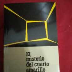 Libros antiguos: GASTON LEROUX.- EL MISTERIO DEL CUARTO AMARILLO (EL PAÍS / SERIE NEGRA).. Lote 95273279