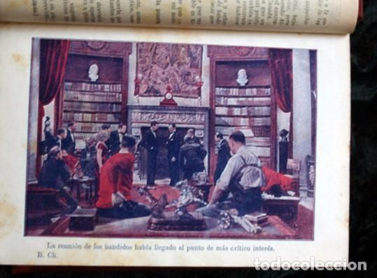 Libros antiguos: LOS BANDIDOS DE CHICAGO - JAMES SHERIDAN - 1933 - ILUSTRADO - Más de 3000 páginas - RARO - Foto 2 - 95690755