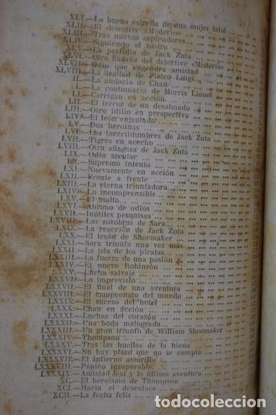Libros antiguos: LOS BANDIDOS DE CHICAGO - JAMES SHERIDAN - 1933 - ILUSTRADO - Más de 3000 páginas - RARO - Foto 5 - 95690755