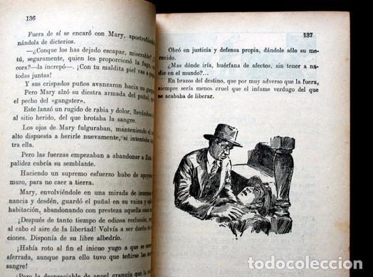 Libros antiguos: LOS BANDIDOS DE CHICAGO - JAMES SHERIDAN - 1933 - ILUSTRADO - Más de 3000 páginas - RARO - Foto 8 - 95690755