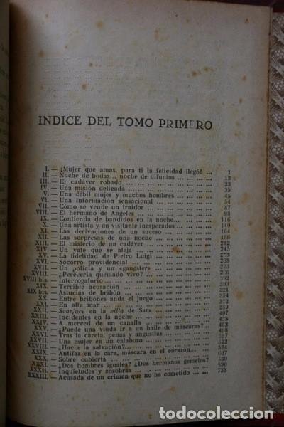 Libros antiguos: LOS BANDIDOS DE CHICAGO - JAMES SHERIDAN - 1933 - ILUSTRADO - Más de 3000 páginas - RARO - Foto 10 - 95690755