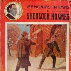 Libros antiguos: MEMORIAS ÍNTIMAS DE SHERLOCK HOLMES : LOS MONEDEROS FALSOS DE LONDRES (ATLANTE, S. F.). Lote 95737539