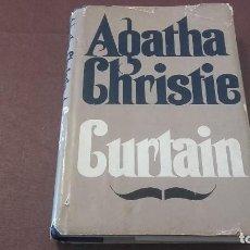 Libros antiguos: CURTAIN AGATHA CHRISTIE PRIMERA EDICIÓN AMERICANA. Lote 95924607