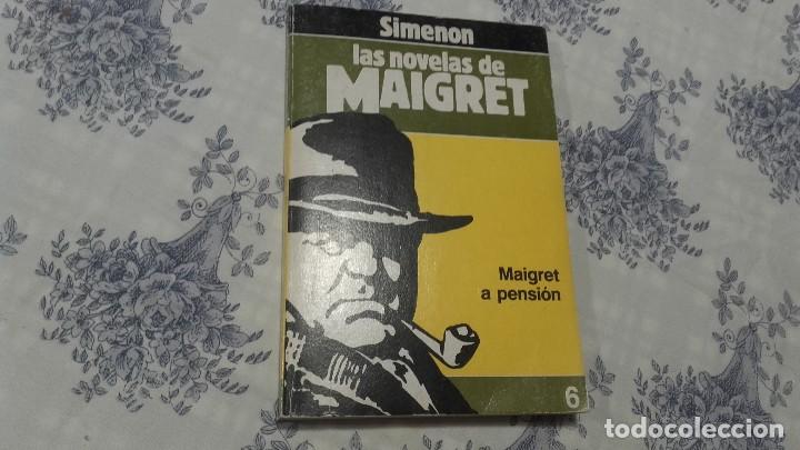 MAIGRET A PENSIÓN SIMENON (Libros antiguos (hasta 1936), raros y curiosos - Literatura - Terror, Misterio y Policíaco)