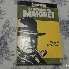 Libros antiguos: MAIGRET A PENSIÓN SIMENON . Lote 95935883