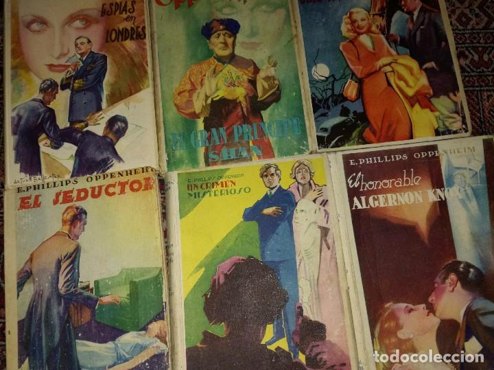 LOTE NOVELAS E OPPENHEIM (Libros antiguos (hasta 1936), raros y curiosos - Literatura - Terror, Misterio y Policíaco)