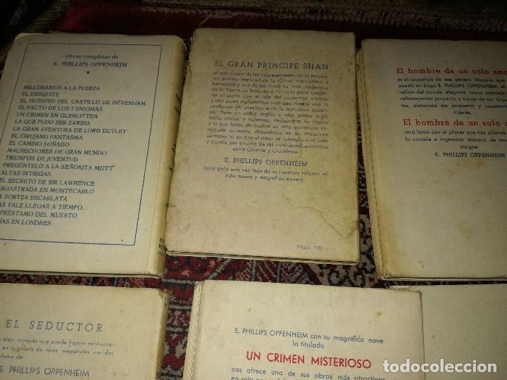 Libros antiguos: Lote novelas E oppenheim - Foto 3 - 96711023