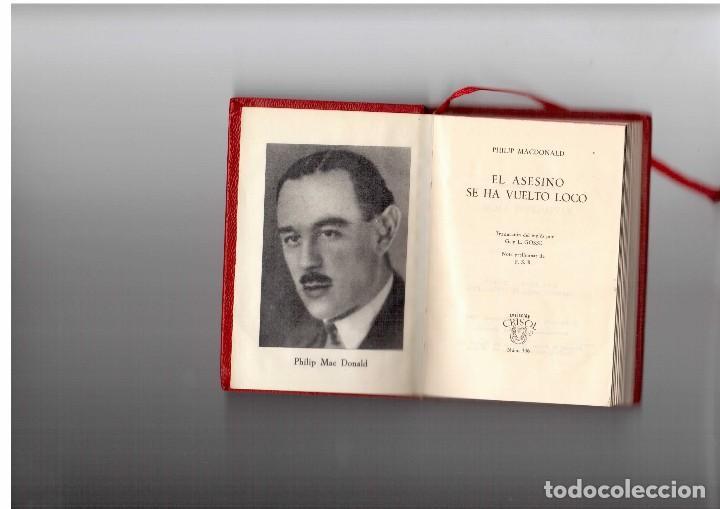 PPRLY - EL ASESINO SE HA VUELTO LOCO. PHILIP MACDONALD. CRISOL AGUILAR (Libros antiguos (hasta 1936), raros y curiosos - Literatura - Terror, Misterio y Policíaco)