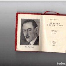 Libros antiguos: PPRLY - EL ASESINO SE HA VUELTO LOCO. PHILIP MACDONALD. CRISOL AGUILAR. Lote 96831139