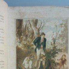 Libros antiguos: ENTERRADA EN VIDA DE ALVARO CARRILLO ILUSTRACIONES EUSEBIO PLANAS Y JOSE CUCHY ORIGINALES. Lote 97165143