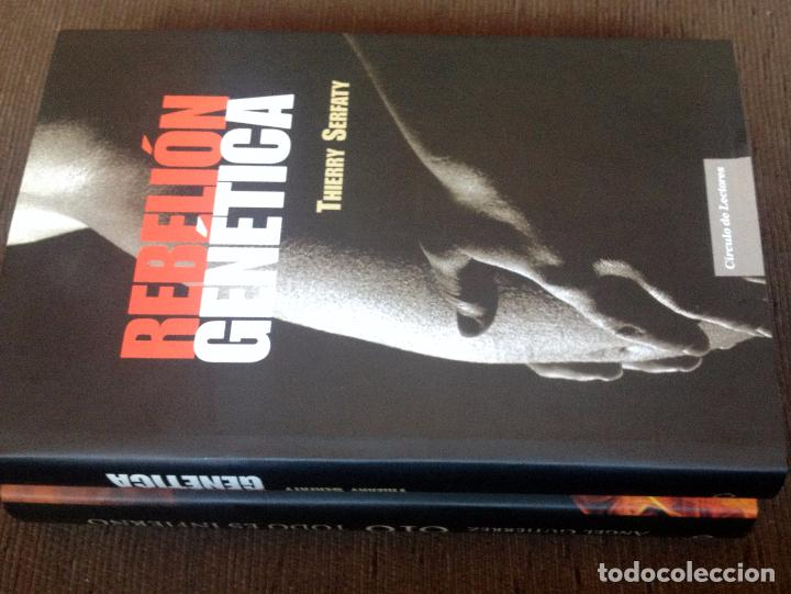 Libros antiguos: LB 17 - LIBRO TERROR (2) - 616 TODO ES INFIERNO Y REBELIÓN GENÉTICA - EN PERFECTO ESTADO SIN LEER - Foto 3 - 97683003
