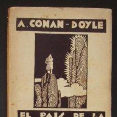 Libros antiguos: EL PAÍS DE LA BRUMA (NOVELA ESPIRITISTA) - CONAN-DOYLE, ARTHUR. Lote 97029123