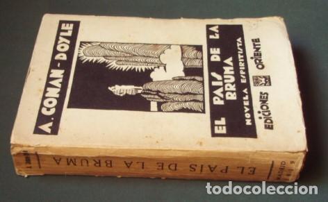 Libros antiguos: El país de la bruma (Novela espiritista) - CONAN-DOYLE, Arthur - Foto 2 - 97029123