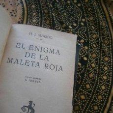 Livres anciens: LIBRO EL ENIGMA DE LA MALETA ROJA H. J. MAGOG 1929 D. IBERIA L-15677. Lote 98155859