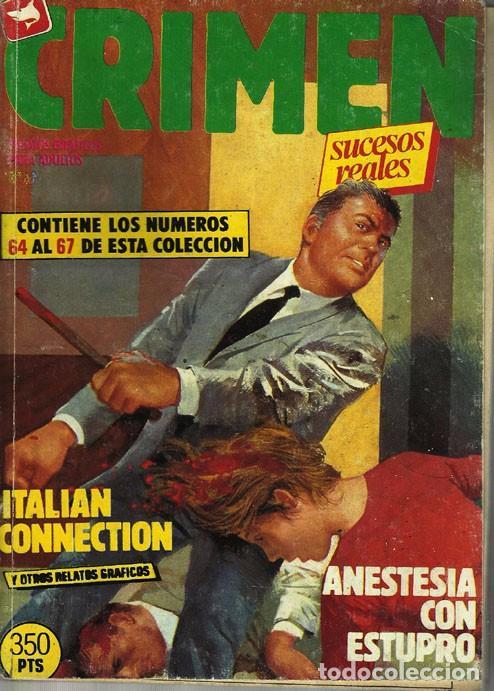 COMIC .CRIMEN Y SUCESOS (Libros antiguos (hasta 1936), raros y curiosos - Literatura - Terror, Misterio y Policíaco)
