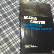 Libros antiguos: ASESINATO EN EL ORIENT EXPRESS AGATHA CHRISTIE. Lote 103788558