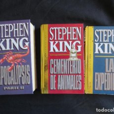 Libros antiguos: LIBROS DE STEPHEN KING DE LA COLECIÓN ORBIS FABBRI. Lote 99143079