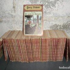 Libros antiguos: NOVELAS DE HARRY DICKSON LOTAZO,!! CON CASI TODOS LOS PRIMEROS NUMEROS!!. Lote 103338207