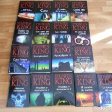 Libros antiguos: STEPHEN KING-17 LIBROS VARIADOS TAPA DURA- MUY BUEN ESTADO. Lote 103373751