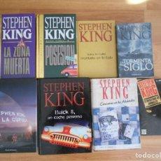 Libros antiguos: STEPHEN KING 8 LIBROS VARIADOS. Lote 103373987