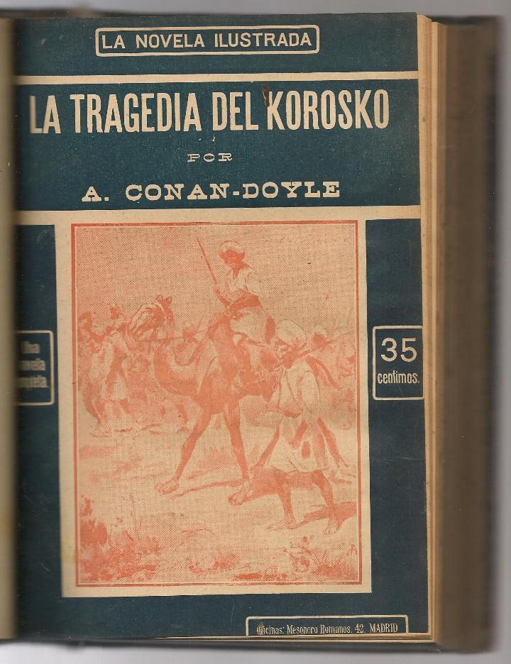 Libros antiguos: CONAN DOYLE,Arthur ,recuerdos de Sherlock Holmes, EL ROBO DEL DIAMANTE AZUL, EL CRIMEN , 12 obras - Foto 2 - 104385155