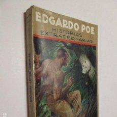 Old books - HISTORIAS EXTRAORDINARIAS. EDGARDO POE. ED. MAUCCI. BIBLIOTECA ARTES Y LETRAS. 329 PP. ILUSTRA - 104460567