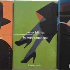 Libros antiguos: TRILOGÍA TU ROSTRO MAÑANA [JAVIER MARÍAS]. Lote 105841251